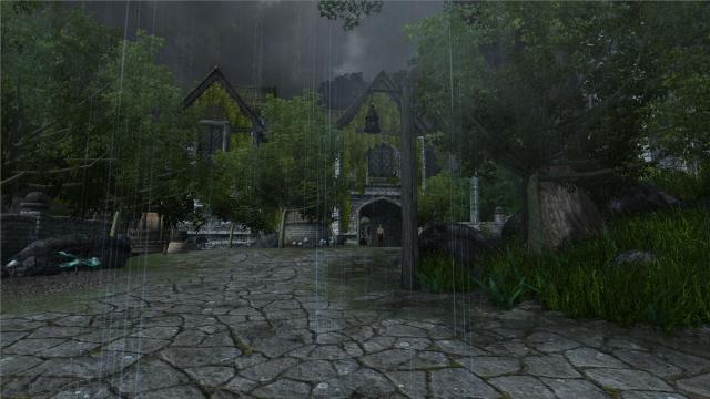 Rain In Weynon Priory