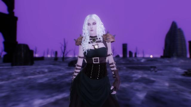 Скриншот в пурпурных тонах