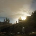 Закат в Коловианском нагорье