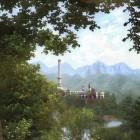 Вид на белую башню