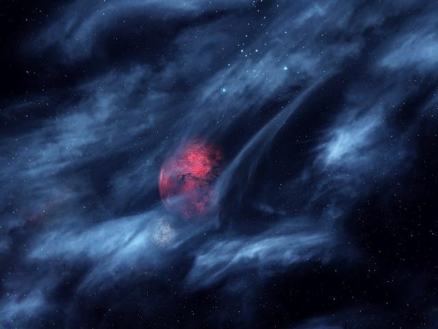 Ночь в Морровинде. Необъятный космос...