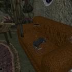 Залезла на диван