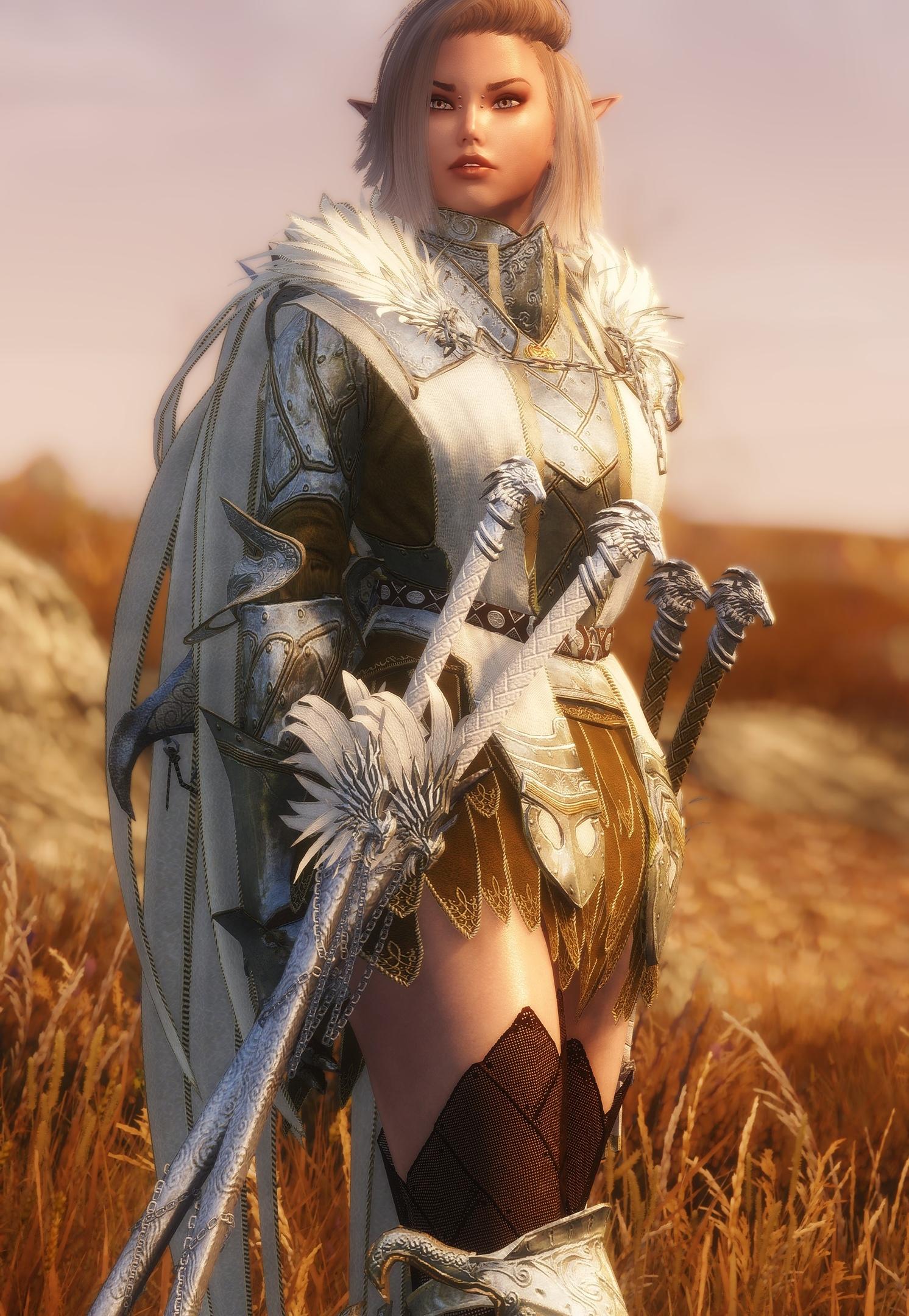 Эльфийская воительница (Erika)