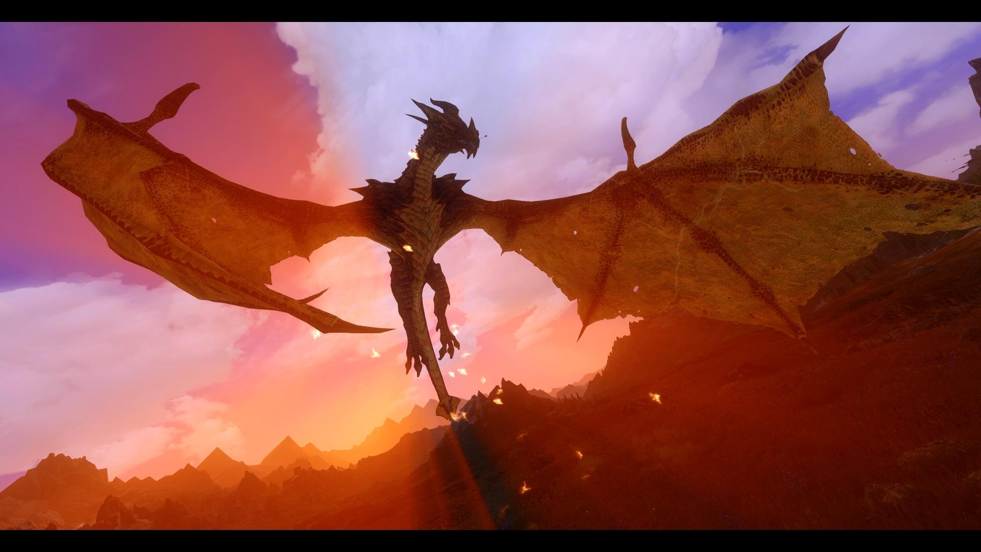 Дракон в небе