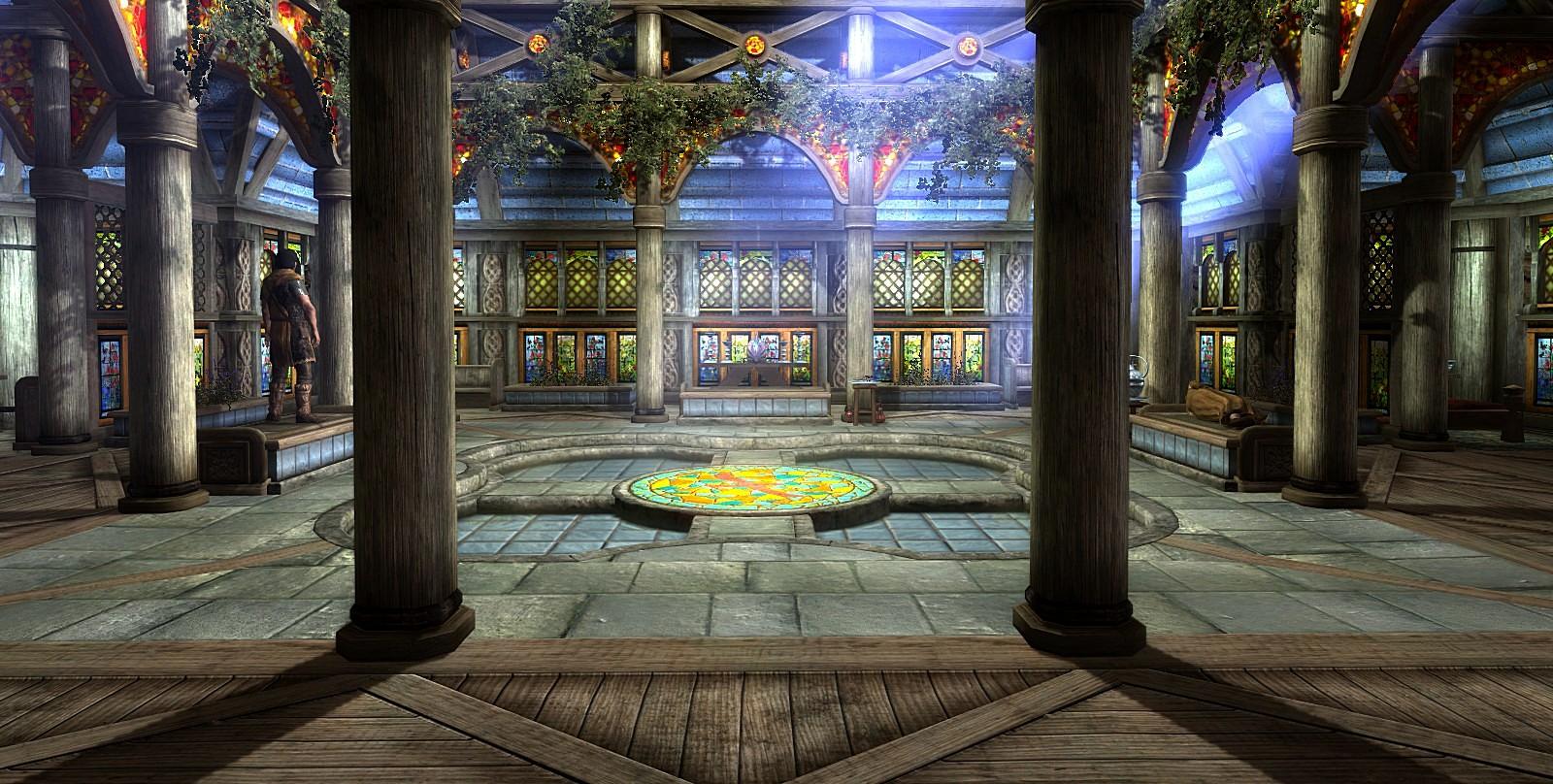 Храм в Вайтране