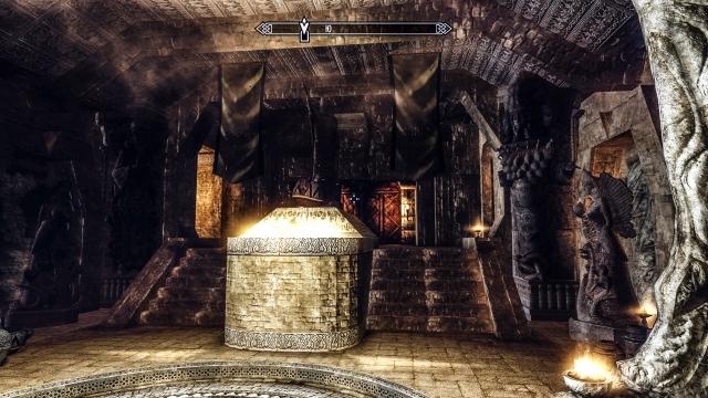Интерьер Высокого Хротгара в Вавилонско-Шумерском стиле