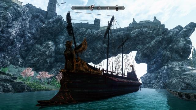Арго. Тест внедрения в игру новых кораблей со сложными коллизиями и альфа-каналом прошёл успешно.