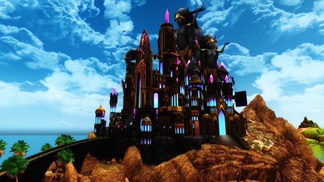 Перестройка замка Волкихар. Не окончательная версия.