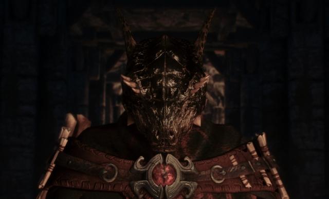 Темный ящер