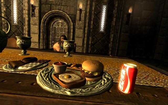 Нет Торин, не дам я тебе ни гамбургера, ни колы, ни более чего ещё!