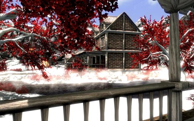 Кирпичный домик