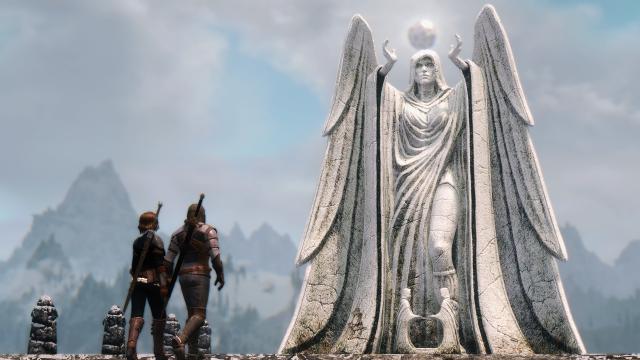 Будни в Skyrim