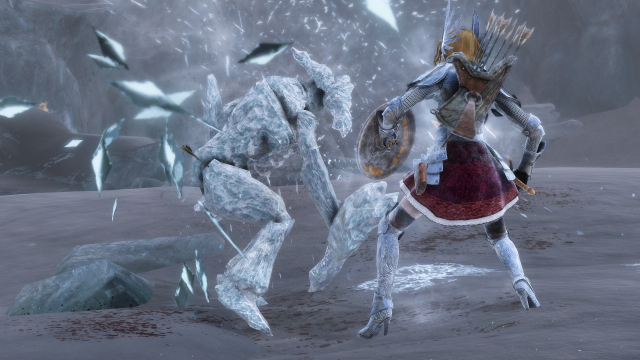 Битва с ледяными Атронахами 3