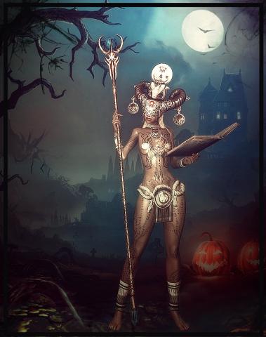 Хэллоуин Aris