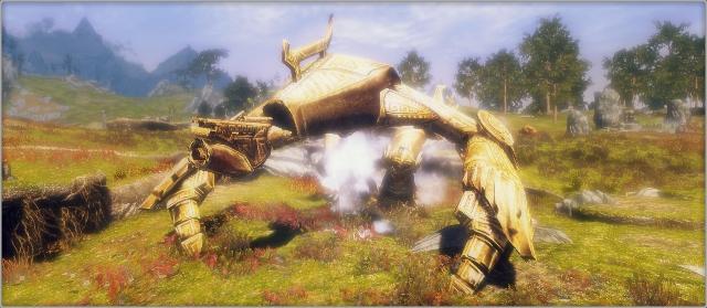 Большой Двемерский боевой робот