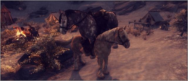 И чем лошади занимаются, интересно?  ^_^