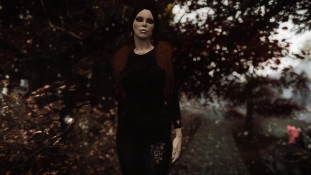 Осенняя аллея.