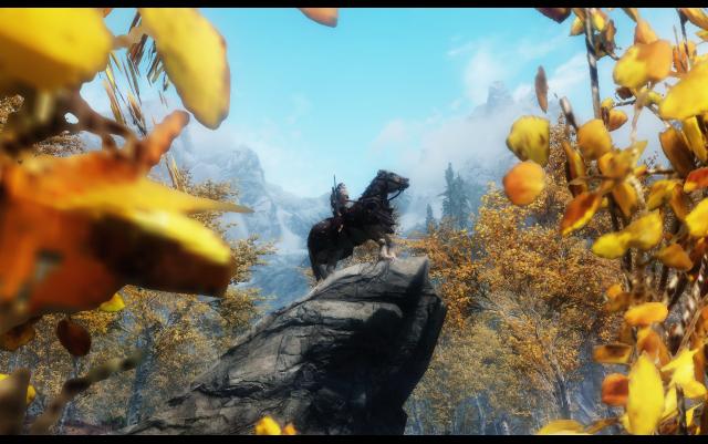Осень пришла в Скайрим