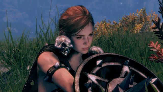 Элли из The Last of Us Part II Skyrim SE