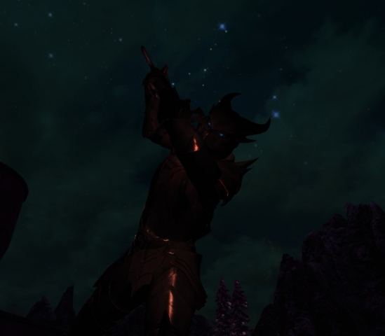 Daedra in Night