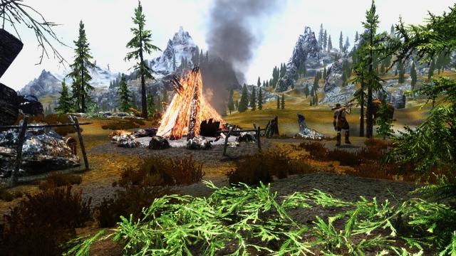 Лагерь великанов