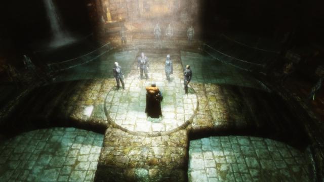 Skyrim (new - 50. Назначение нового Главы Гильдии воров, Храм Ноктюрнал)