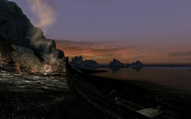 Закат над морем Призраков
