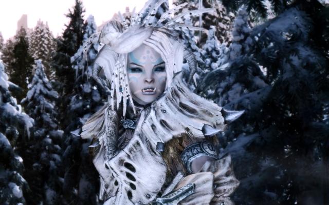 Белая оркесса