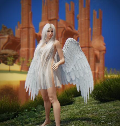 И ступил ангел на землю ......