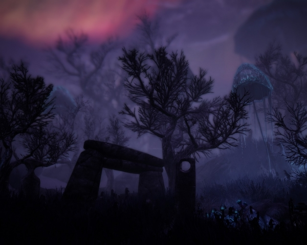 Мрачный пейзаж