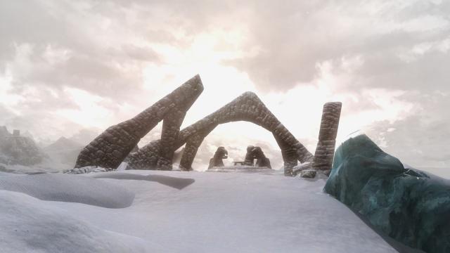 Руины Белого Храма.