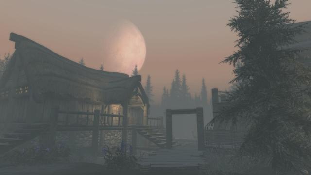 Лунный закат