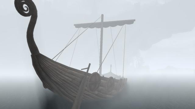 Вечное туманное утро в доках Солитьюда