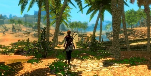 Тропический Скайрим