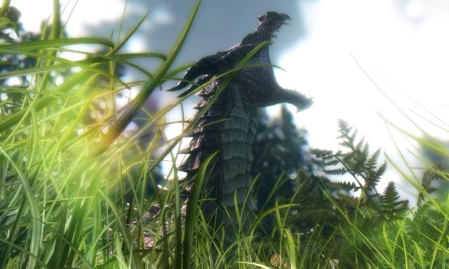Пасущийся дракон