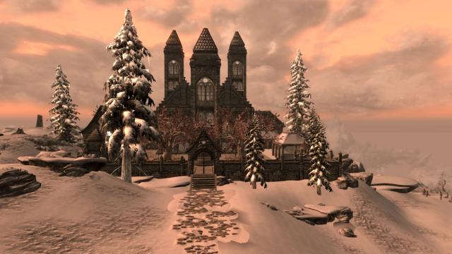 Solstice Castle (exterior)