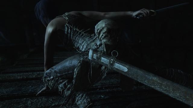 В подземельях живых мертвецов