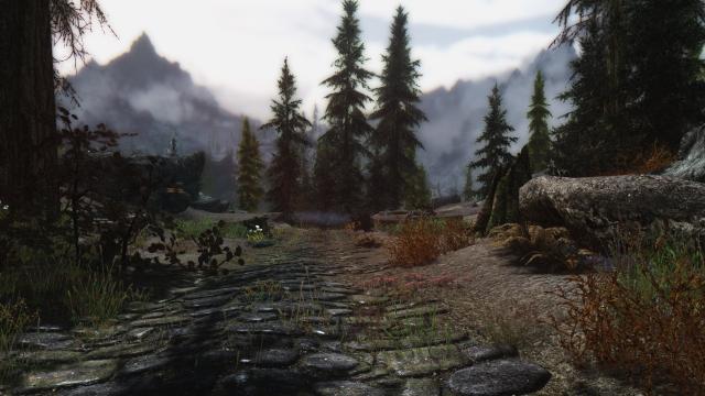 Пейзажи Скайрим
