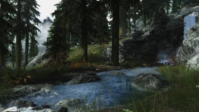 Пейзажи Скайрима