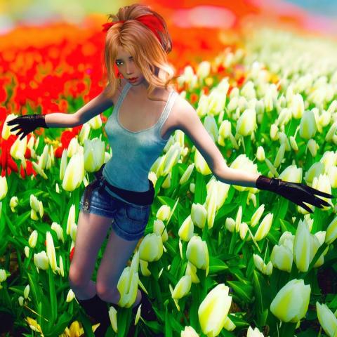 Цветочные поля