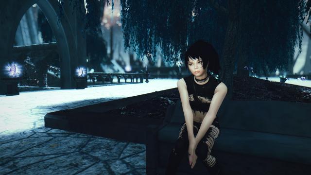 Охотник на вампиров на отдыхе