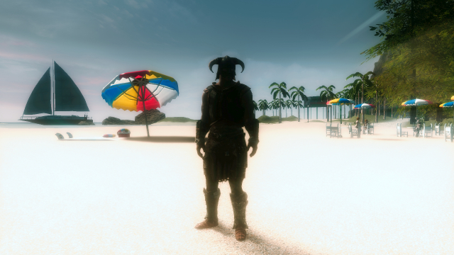 Лето в Скайриме