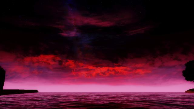 Кровавый закат