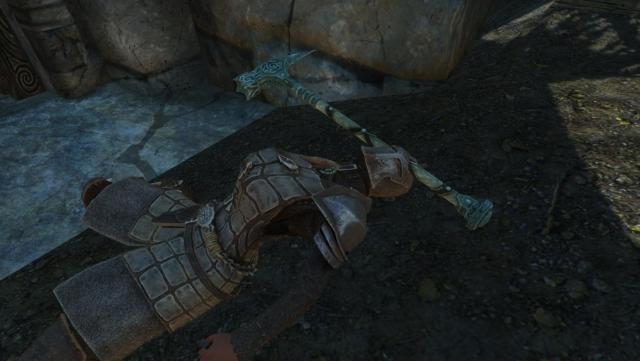 Dawnguard knight&hammer