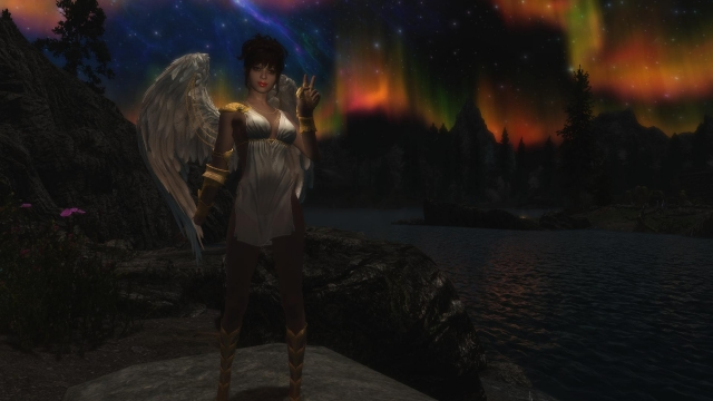 Ангел во плоти ночью