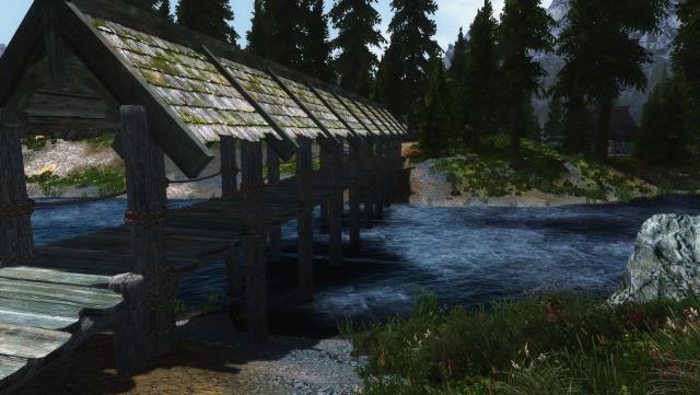 Мост к поселению Чёрный брод .