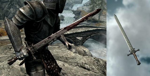 Меч. Просто меч.