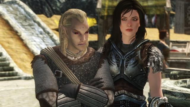 Хускарл и ее тан или несколько убитых драконов спустя...