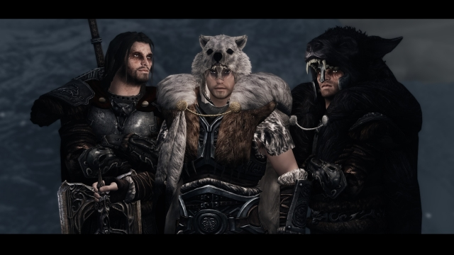 Wolves of Skyrim