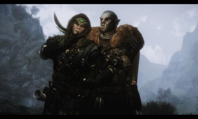 Эльф и орк